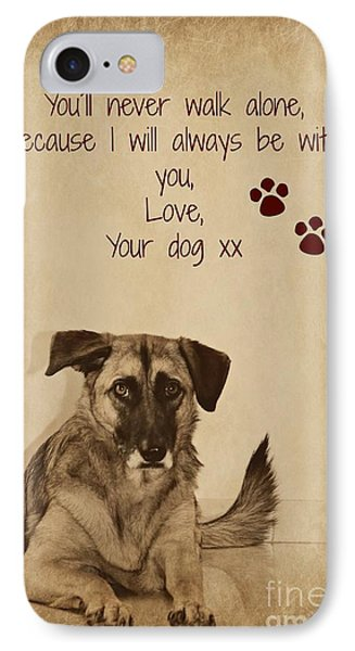 Message From Your Dog IPhone Case by Clare Bevan