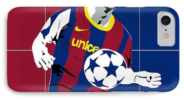messi Football Phone Case by Roby Marelly