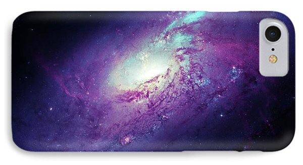 Messier 106 IPhone Case by Detlev Van Ravenswaay