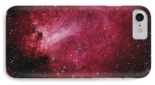 Messier 17, The Swan Nebula IPhone Case by Bob Fera