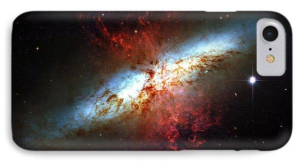 Messier 82 Phone Case by Ricky Barnard