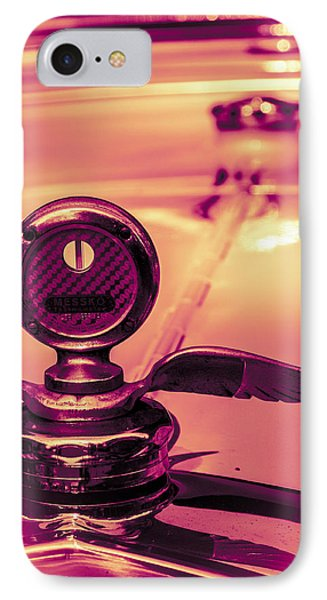 IPhone Case featuring the digital art Messko Thermometer by Bartz Johnson