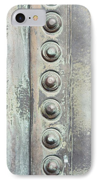 Metal Detail IPhone Case by Tom Gowanlock