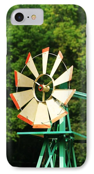 Metal Windmill Phone Case by Christopher Hoffman