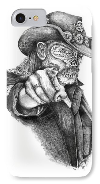 Metal Zombie Heroes Lemmy Kilmister Motorhead IPhone Case by Jakub DK