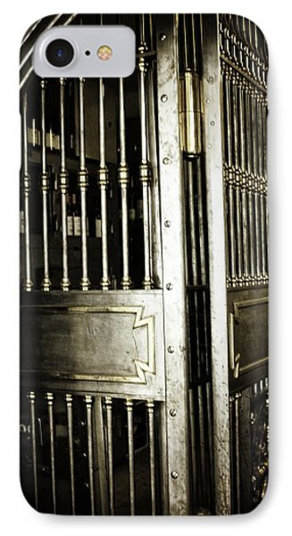 Metals Bank Vault IPhone Case by Image Takers Photography LLC - Laura Morgan