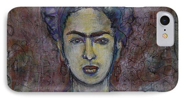 Metamorphosis Frida Phone Case by Laurie Maves ART