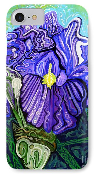 Metaphysical Iris Phone Case by Genevieve Esson