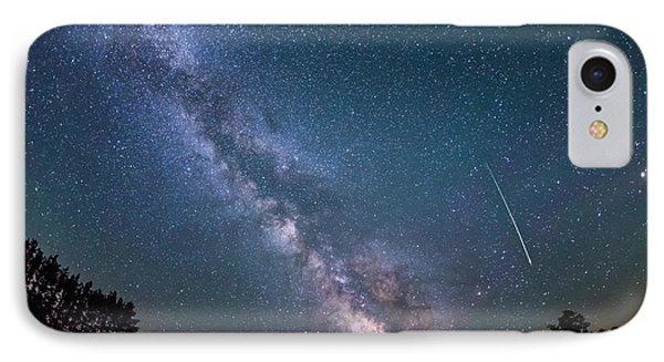 Meteor Milky Way  IPhone Case