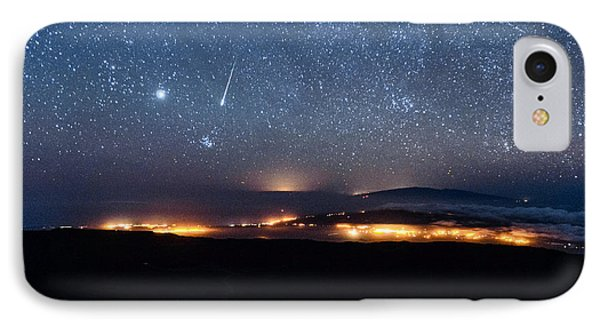 Meteor Over The Big Island IPhone Case