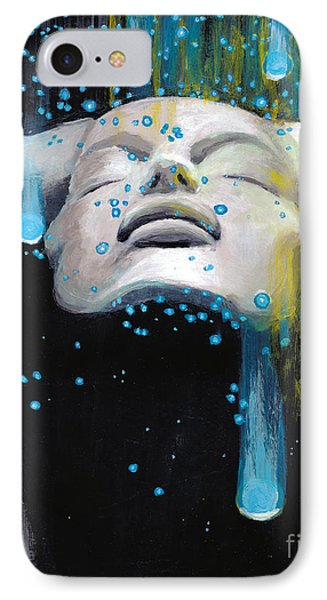 IPhone Case featuring the painting Meteor Shower by Denise Deiloh