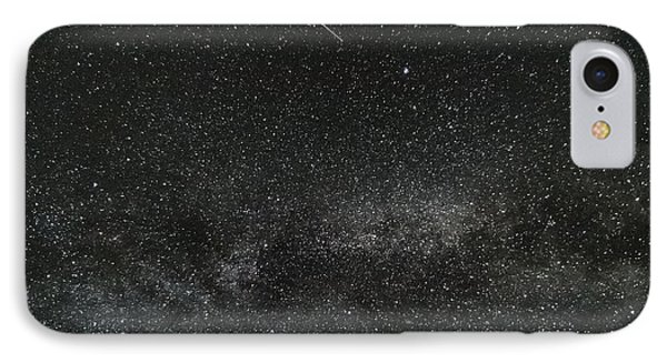 Meteor With The Milky Way IPhone Case by Patrick Fennell