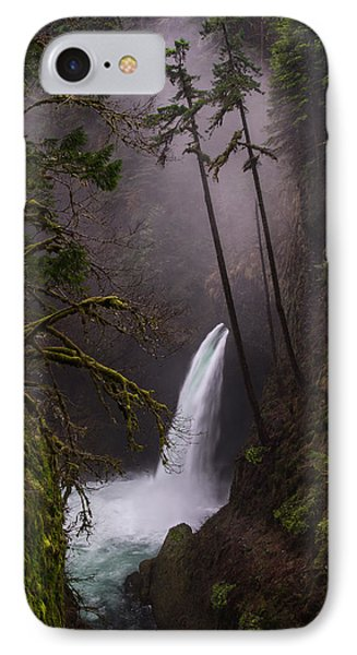 Metlako Falls Oregon IPhone Case by Larry Marshall