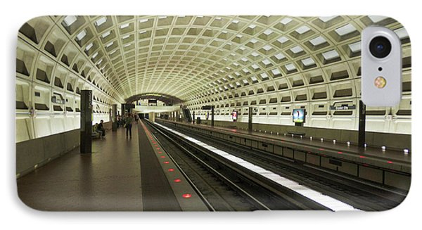 Metro Station In Suburban Washington, D IPhone Case by Christopher Reed