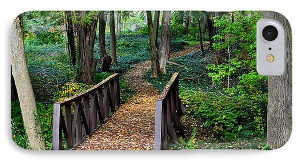 Metroparks Pathway Phone Case by Frozen in Time Fine Art Photography