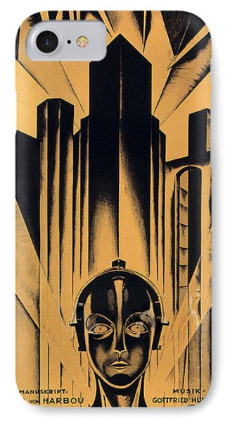 Metropolis Poster IPhone Case by Gianfranco Weiss