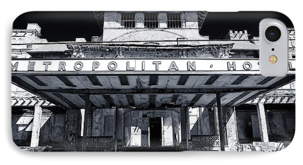 Metropolitan Hotel IPhone Case by John Rizzuto