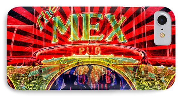 IPhone Case featuring the digital art Mex Party by Richard Farrington