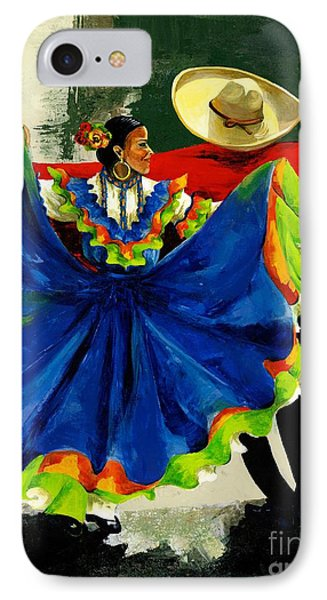 Mexican Dancers Phone Case by Elisabeta Hermann