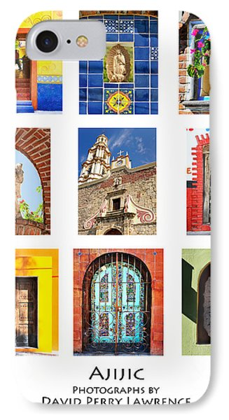 IPhone Case featuring the photograph Colorful Mexican Doors, Ajijic Mexico - Travel Photography By David Perry Lawrence by David Perry Lawrence