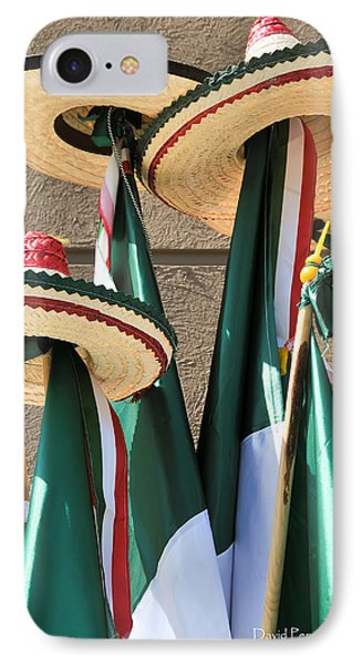 IPhone Case featuring the photograph Mexican Independence Day - Photograph By David Perry Lawrence by David Perry Lawrence