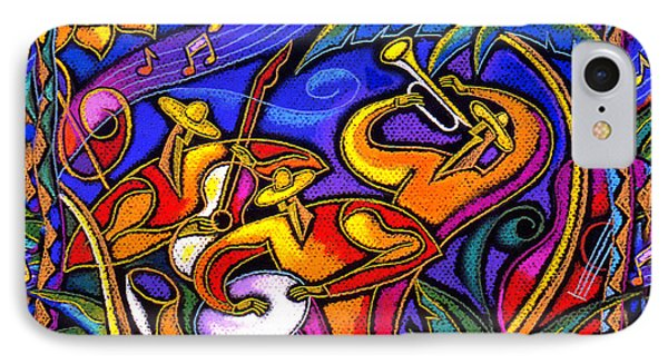 Latin Music IPhone Case by Leon Zernitsky