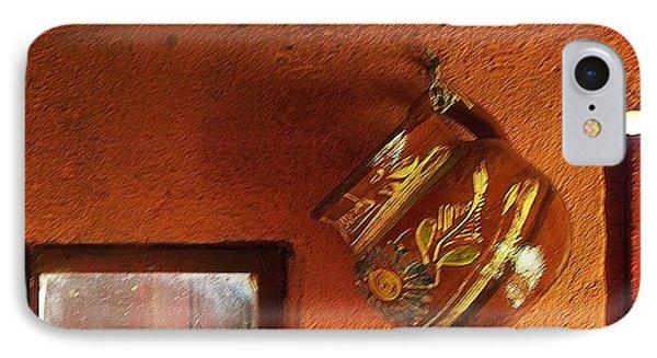IPhone Case featuring the photograph Mexican Pottery by Joy Nichols