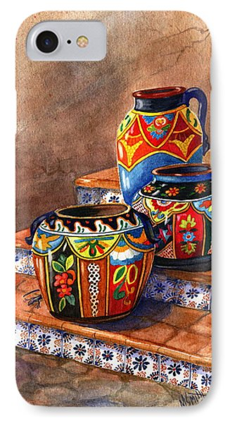 Mexican Pottery Still Life Phone Case by Marilyn Smith