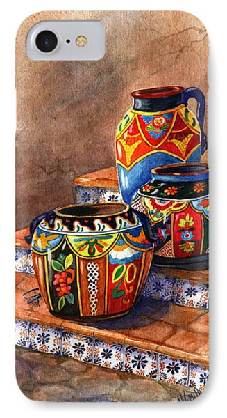 Mexican Pottery Still Life IPhone Case by Marilyn Smith