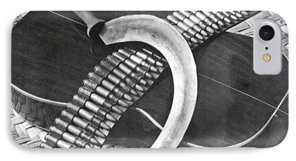 Mexican Revolution Guitar, Sickle IPhone Case by Tina Modotti