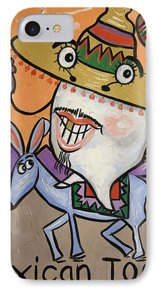 Mexican Tooth IPhone Case by Anthony Falbo