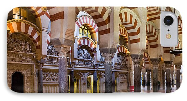 Mezquita Prayer Hall In Cordoba Phone Case by Artur Bogacki