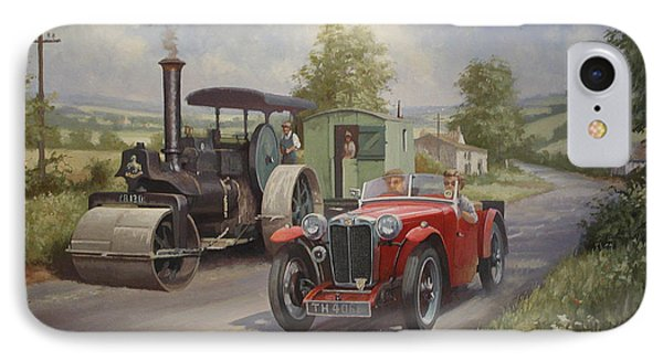 Mg Sports Car. IPhone Case by Mike  Jeffries