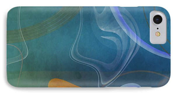 Mgl - Abstract Twirl 04 IPhone Case by Joost Hogervorst