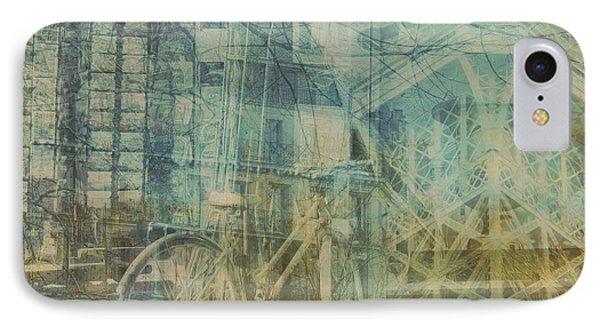 Mgl - City Collage - Paris 01 IPhone Case