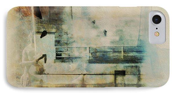 Mgl - City Collage - Paris 05 IPhone Case by Joost Hogervorst
