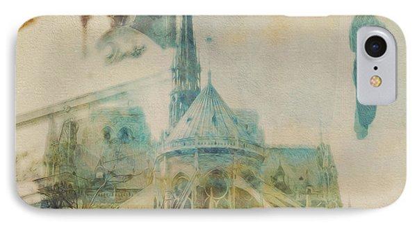 Mgl - City Collage - Paris 06 IPhone Case by Joost Hogervorst