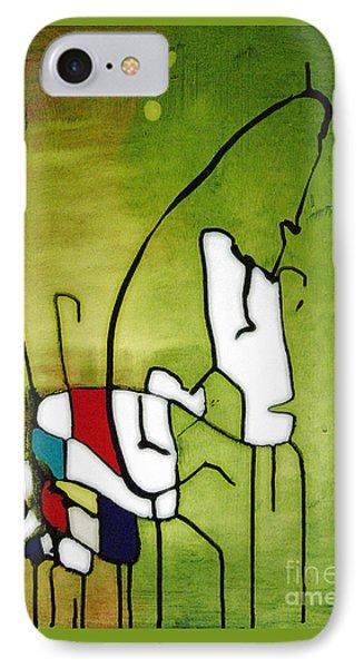 Mi Caballo 2 Phone Case by Jeff Barrett