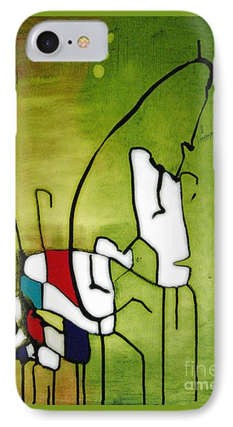 Mi Caballo 2 IPhone Case by Jeff Barrett