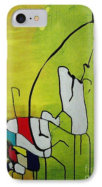 Mi Caballo Phone Case by Jeff Barrett