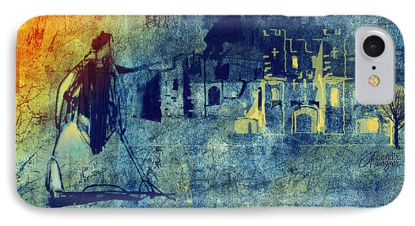 IPhone Case featuring the digital art Mi Casa by Arline Wagner