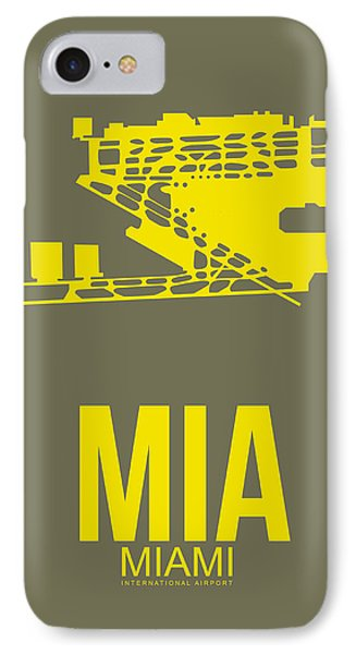 Mia Miami Airport Poster 1 IPhone Case