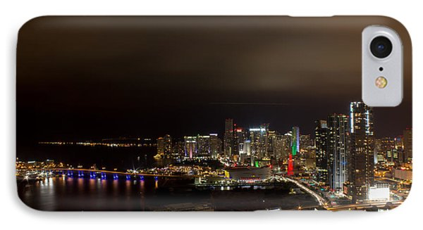 Miami After Dark Phone Case by Rene Triay Photography