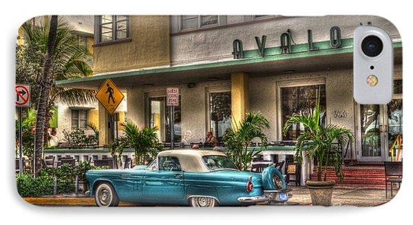 Miami Beach Art Deco 1 Phone Case by Timothy Lowry