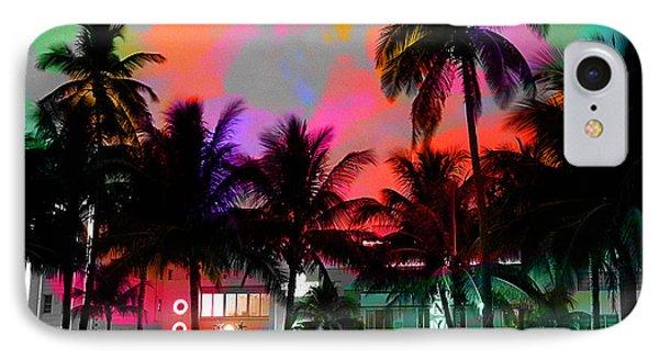 Miami Beach IPhone Case by Marvin Blaine