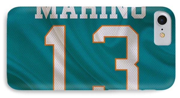 Miami Dolphins Dan Marino IPhone Case by Joe Hamilton