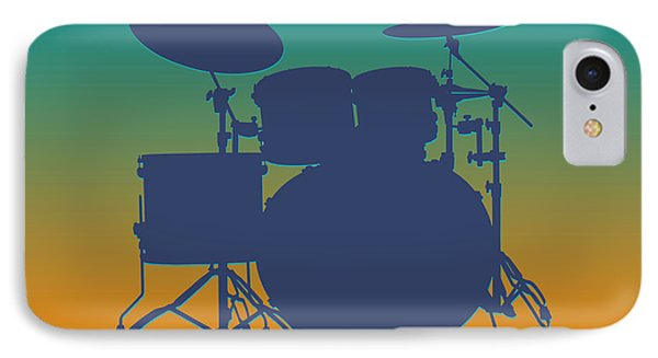 Miami Dolphins Drum Set IPhone Case by Joe Hamilton