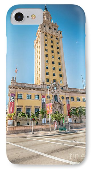 Miami Freedom Tower 4 - Miami - Florida IPhone Case by Ian Monk