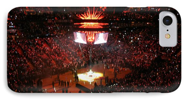 IPhone Case featuring the photograph Miami Heat  by J Anthony