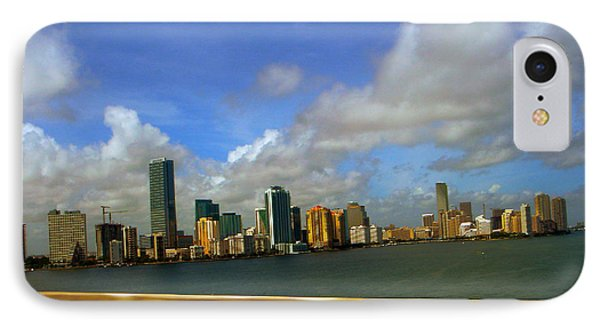 IPhone Case featuring the photograph Miami by J Anthony
